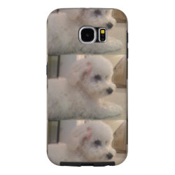Case-Mate Barely There Samsung Galaxy S6 Case with Bichon Frise Phone Cases design