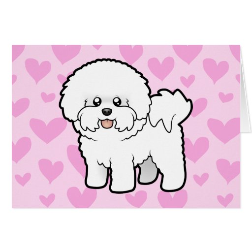 Bichon Frise Love Card