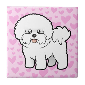 Bichon Frise Love Tile