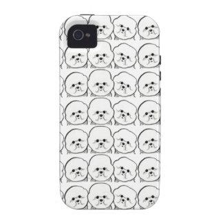 Bichon Frise Lover Case-Mate iPhone 4 Cases