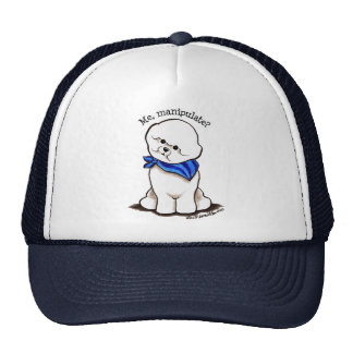 Bichon Frise Me Manipulate Trucker Hat