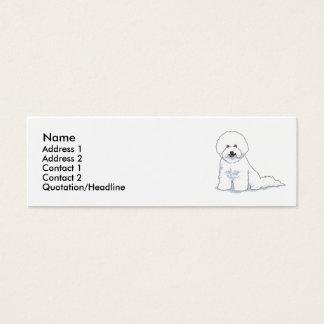 Bichon Frise Mini Business Card