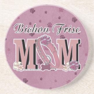 Bichon Frise MOM Coasters