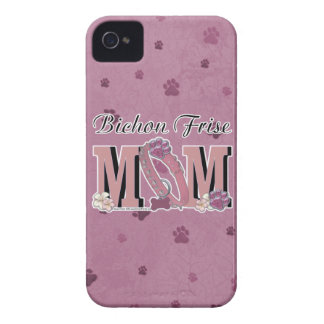 Bichon Frise MOM iPhone 4 Cover