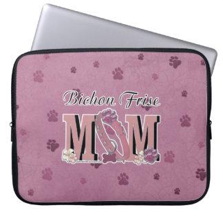 Bichon Frise MOM Laptop Sleeves