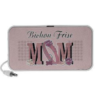Bichon Frise MOM Laptop Speaker