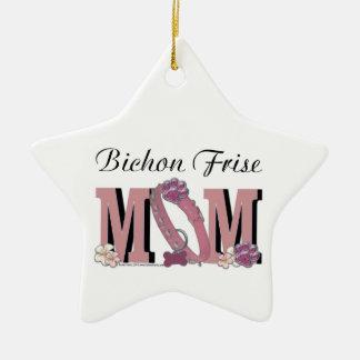 Bichon Frise MOM Ornament