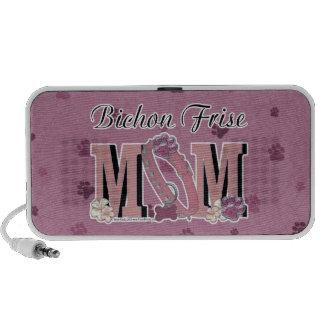Bichon Frise MOM Portable Speakers