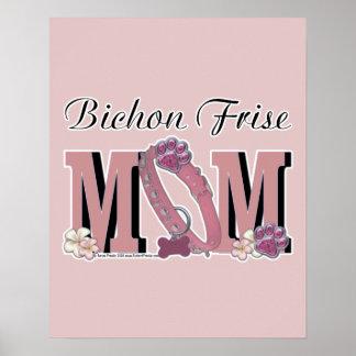 Bichon Frise MOM Print