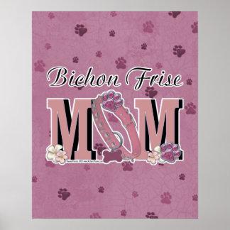 Bichon Frise MOM Posters