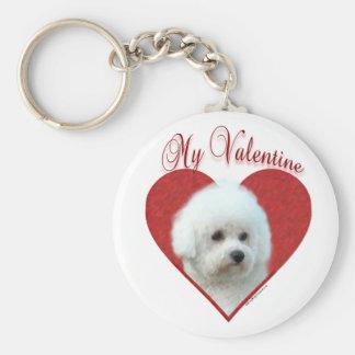 Bichon Frise My Valentine - Keychain