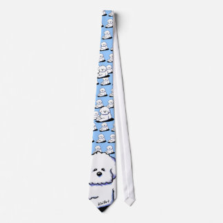 Bichon Frise Neck Tie
