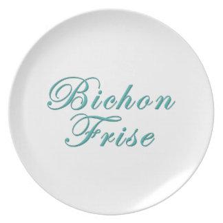 Bichon Frise Plates