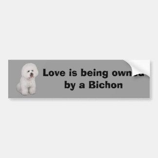 Bichon Frise Precious Bumper Sticker