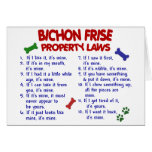 BICHON FRISE Property Laws 2 Cards