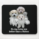 Bichon Frise Puppies Mousepad