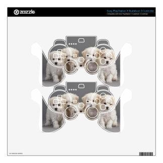 Bichon Frisé Puppies PS3 Controller Decals