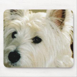 Bichon Frise Puppy Mouse Pad
