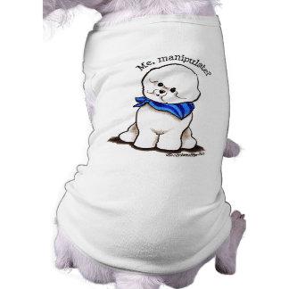 Bichon Frise que manipula Camiseta De Perrito