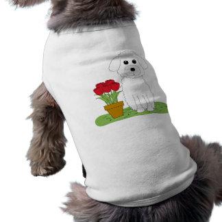 Bichon Frise Camisa De Mascota