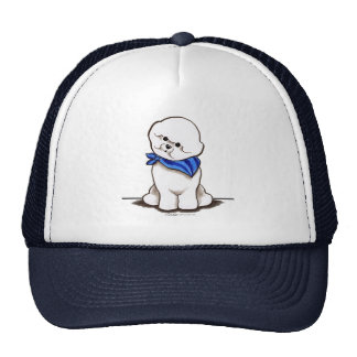 Bichon Frise Sailor Boy Blue Trucker Hat
