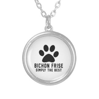 Bichon Frise Simply the best Personalized Necklace