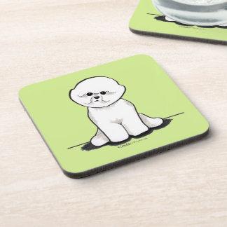 Bichon Frise Sit Pretty Coasters
