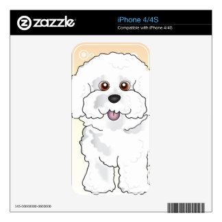 Bichon Frise iPhone 4S Decal