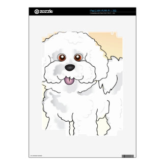 Bichon Frise Decals For The iPad 2