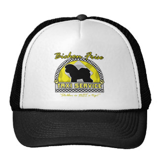 Bichon Frise Taxi Service Trucker Hat
