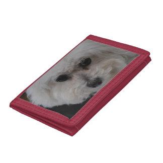 Bichon Frise Tri-fold Wallet