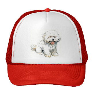 Bichon Frise Trucker Hat
