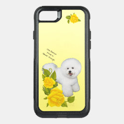 OtterBox Apple iPhone 7 Symmetry Case with Bichon Frise Phone Cases design