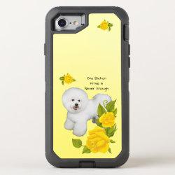 OtterBox Apple iPhone 7 Symmetry Case with Bichon Frise Phone Cases design