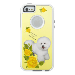 OtterBox Symmetry iPhone SE/5/5s Case with Bichon Frise Phone Cases design