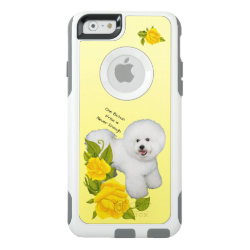 OtterBox Symmetry iPhone 6/6s Case with Bichon Frise Phone Cases design