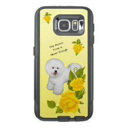 OtterBox Commuter Samsung Galaxy S6 Case with Bichon Frise Phone Cases design