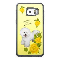 OtterBox Symmetry Samsung S6 Edge Plus Case with Bichon Frise Phone Cases design