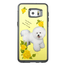OtterBox Symmetry Samsung S6 Edge Plus Case with Bichon Frise Phone Cases design