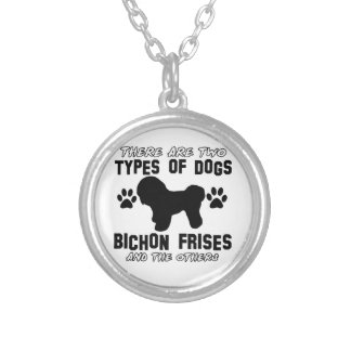 Bichon frises gift items personalized necklace