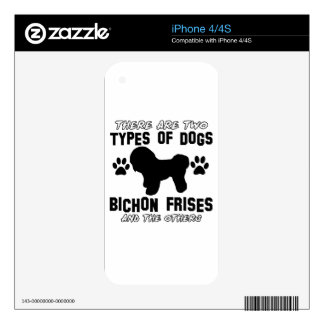 Bichon frises gift items iPhone 4S skin