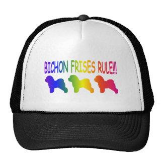 Bichon Frises Rule Trucker Hat
