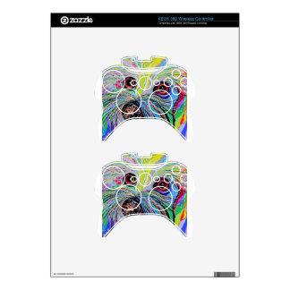 Bichon in Blue Tones Xbox 360 Controller Skins