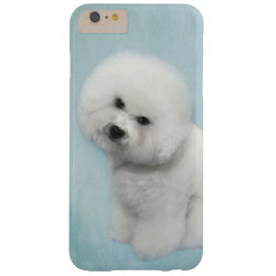 Case-Mate Barely There iPhone 6 Plus Case with Bichon Frise Phone Cases design