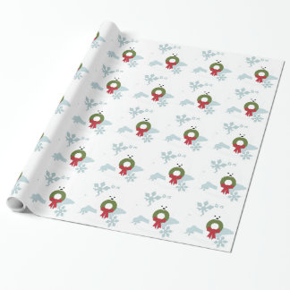 Bichon Love Christmas Holiday Style Wrapping Paper