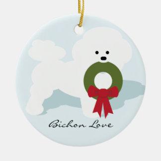 Bichon Lover Dog Ornament