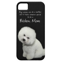 Bichon Mom iPhone 5 Case