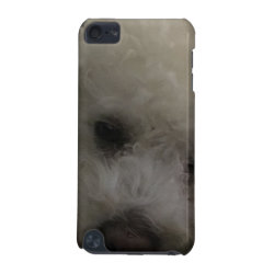 Case-Mate Barely There 5th Generation iPod Touch Case with Bichon Frise Phone Cases design