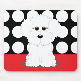 Bichon Puppy Mouse Pad