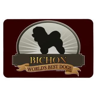 Bichon Rectangular Photo Magnet